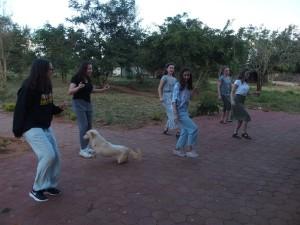 MEGA Girls teaching the Cotton Eyed Joe