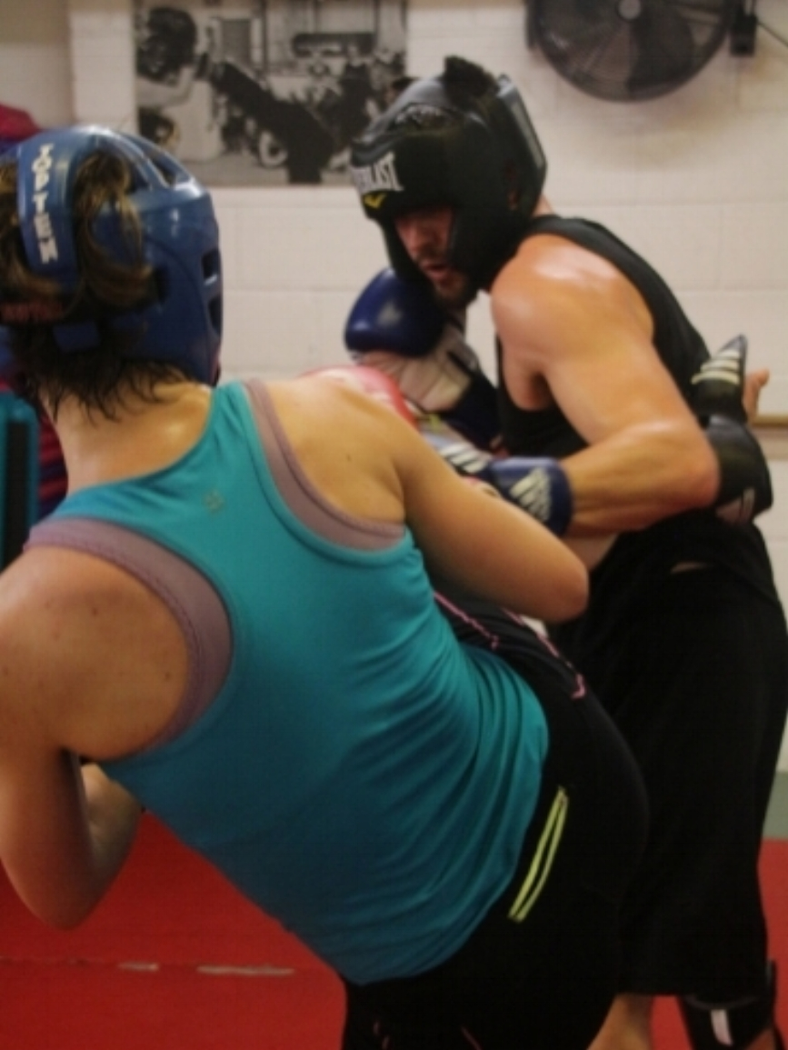 Springhealth Kickboxing Sparring Class