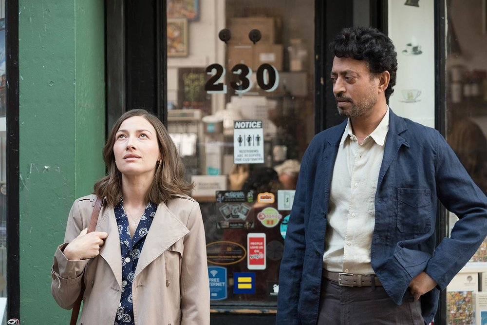 "Kelly Macdonald and Irrfan Kahn as Kelly and Robert, two expert puzzlers seeking something more from life, star in ""Puzzle."""