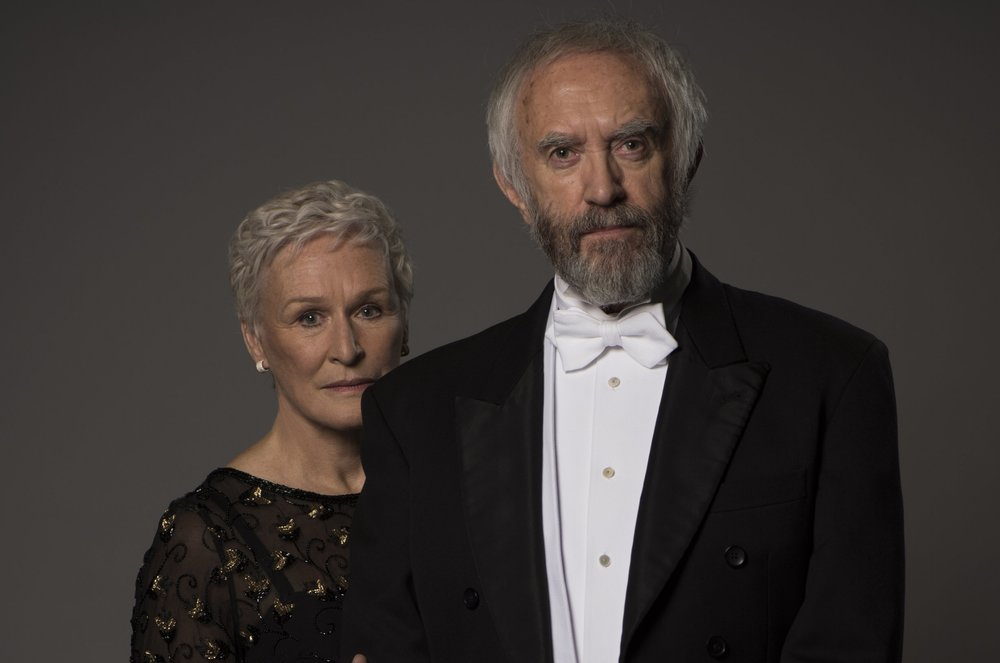 "Glenn Close and Jonathan Pryce star in ""The Wife."""