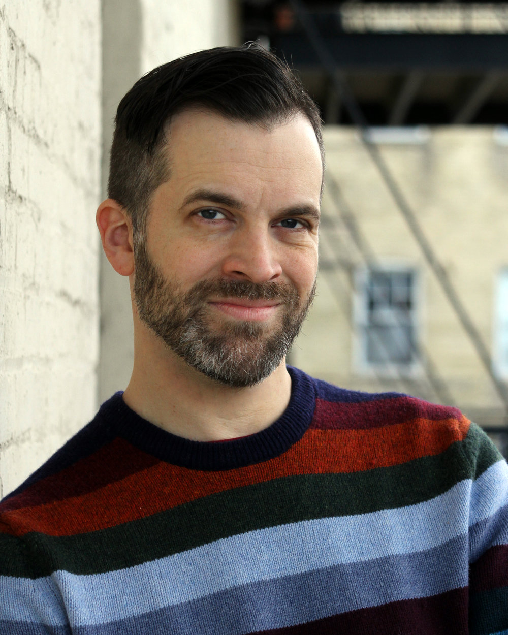"""Mark Neufang plays Cal in Boulevard Theatre's stage reading of """"Mothers and Sons."""""""