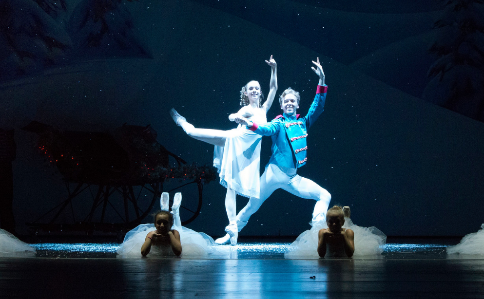 "Ella Sivak and Alex Vrba, shown here in MainStage Academy of Dance 2017 ""The Nutcracker,"" will also be featured in this year's MainStage production of Tchaikovsky's classic at the Oconomowoc Arts Center, Dec. 7-9. Sivak will reprise here role as Clara while Vrba will play the Rat King and other roles"