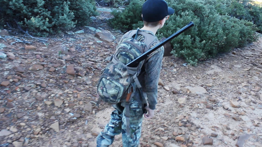"Nothing says, ""master of your domain"" like a Red Ryder in your day-pack!"