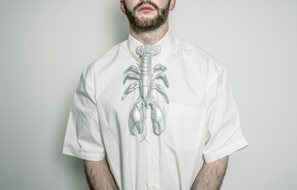 Silver lobster tie. Pre-order at bill@lavatoryphx.com