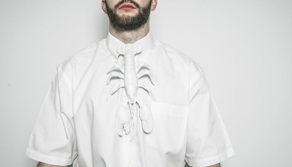 White lobster tie. Pre-order at bill@lavatoryphx.com