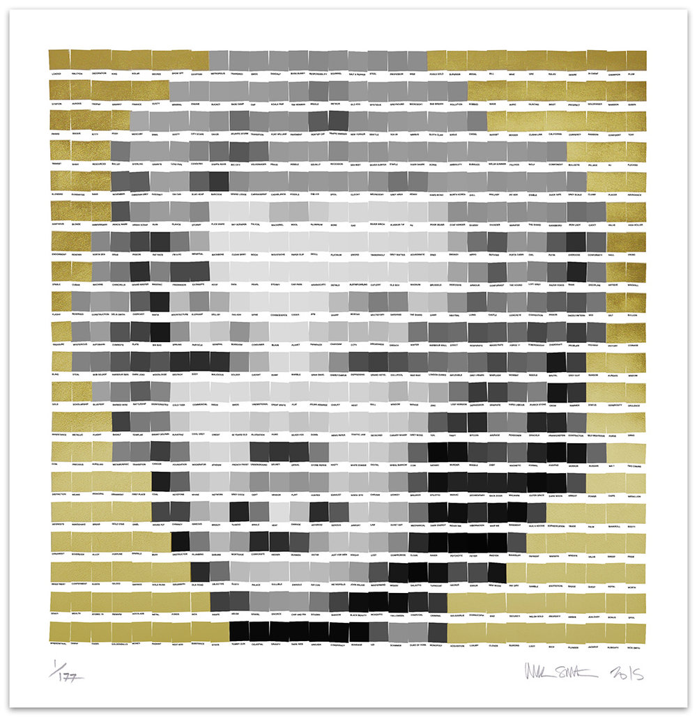 Marilyn Gold Leaf 2015