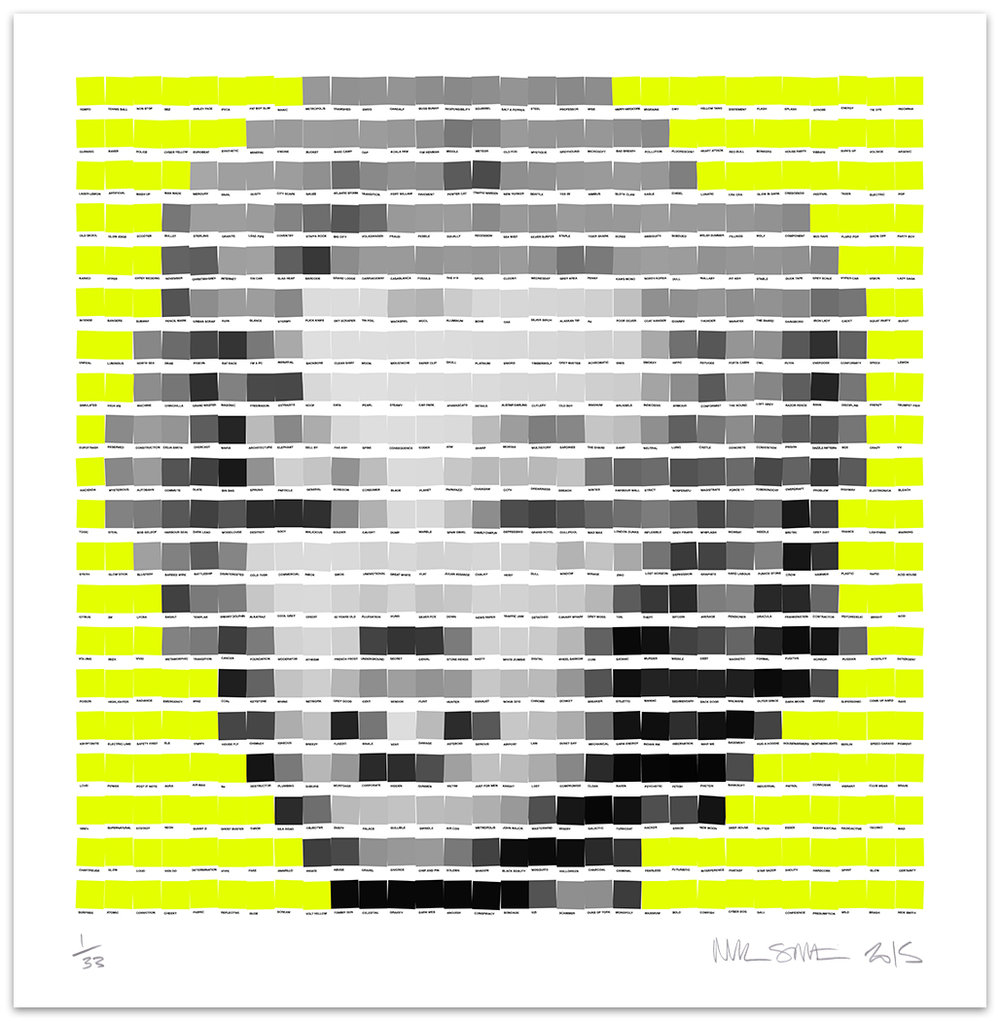 Marilyn Neon Yellow 2015