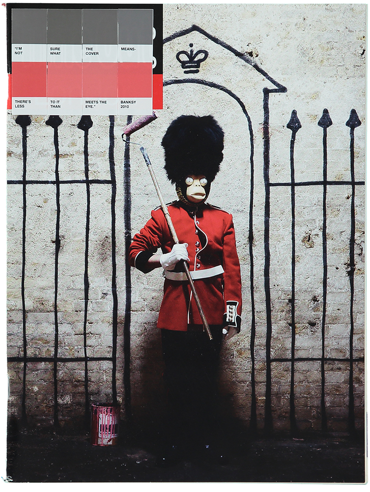 Banksy, Time Out, 2011