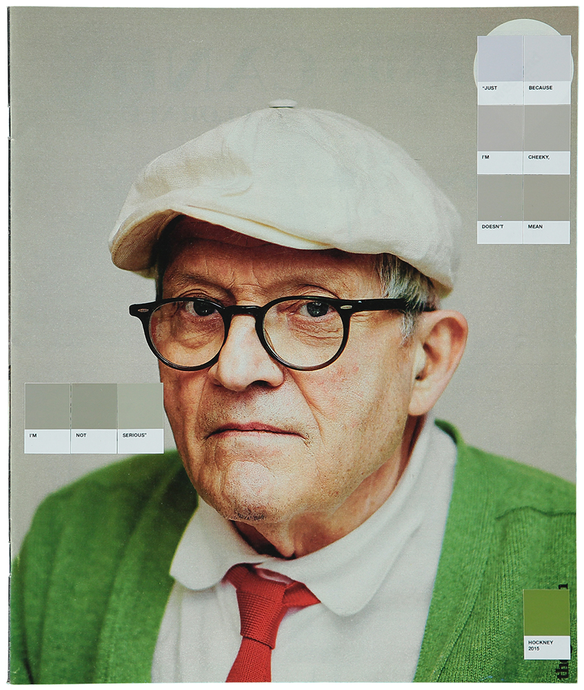 David Hockney, The Guardian, 2015