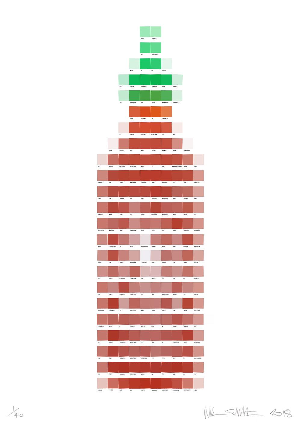 Psalm 138 - Sriracha Sauce