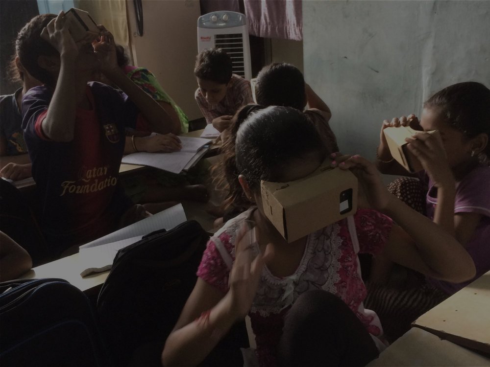 Mumbai - We worked with students to design and develop VR movies on the theme 'Respect'