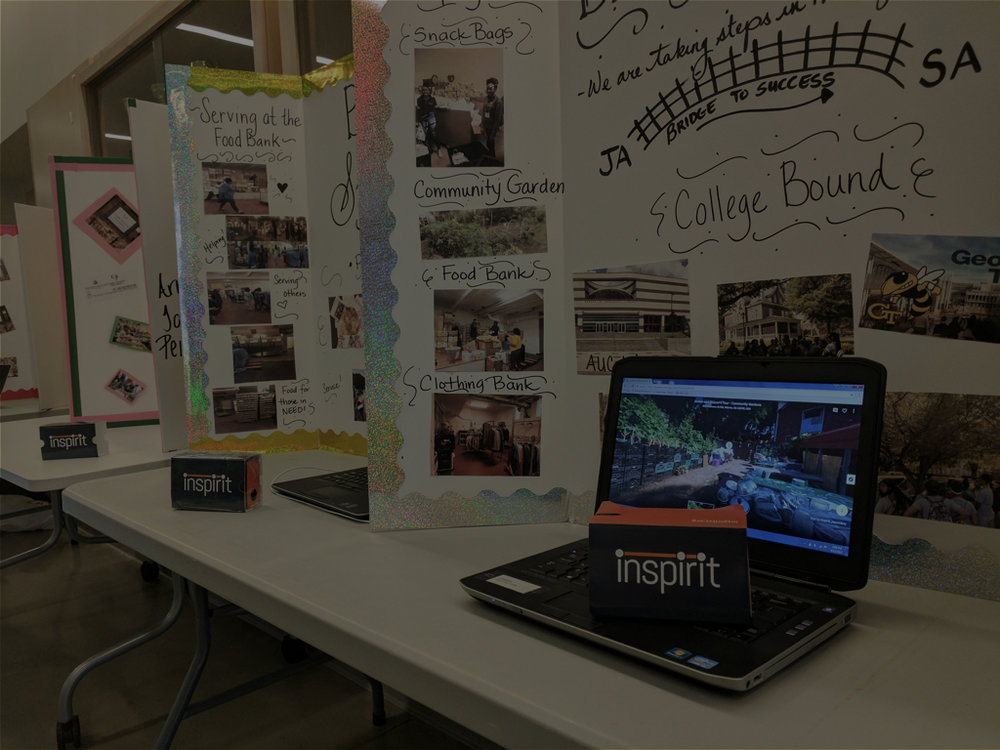 Atlanta - Students in Atlanta created movies on Hunger and Homelessness using various perspectives
