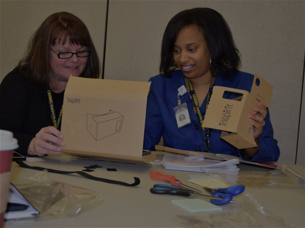 STEAM Conference - Led a VR design-thinking workshop with teachers at the CEISMC STEAM Conference in March, 2017