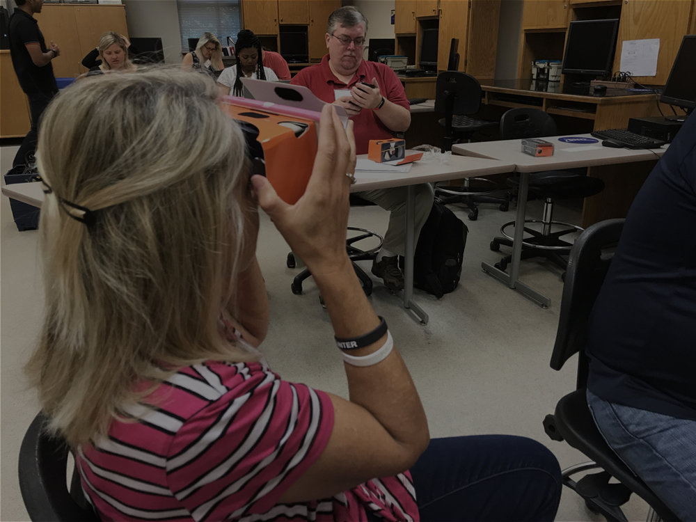 Department of Education Workshops - Organized two VR workshops with teachers at the Georgia DoE in June. 2017