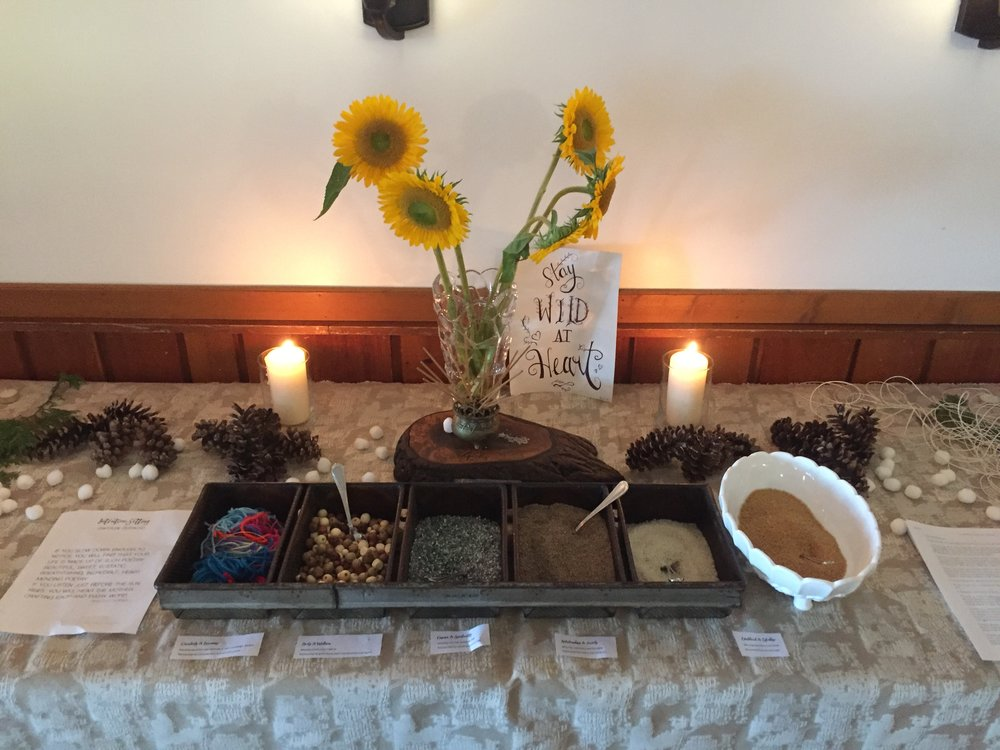 Despacho Ceremony Offerings from Ommm Retreat 2018