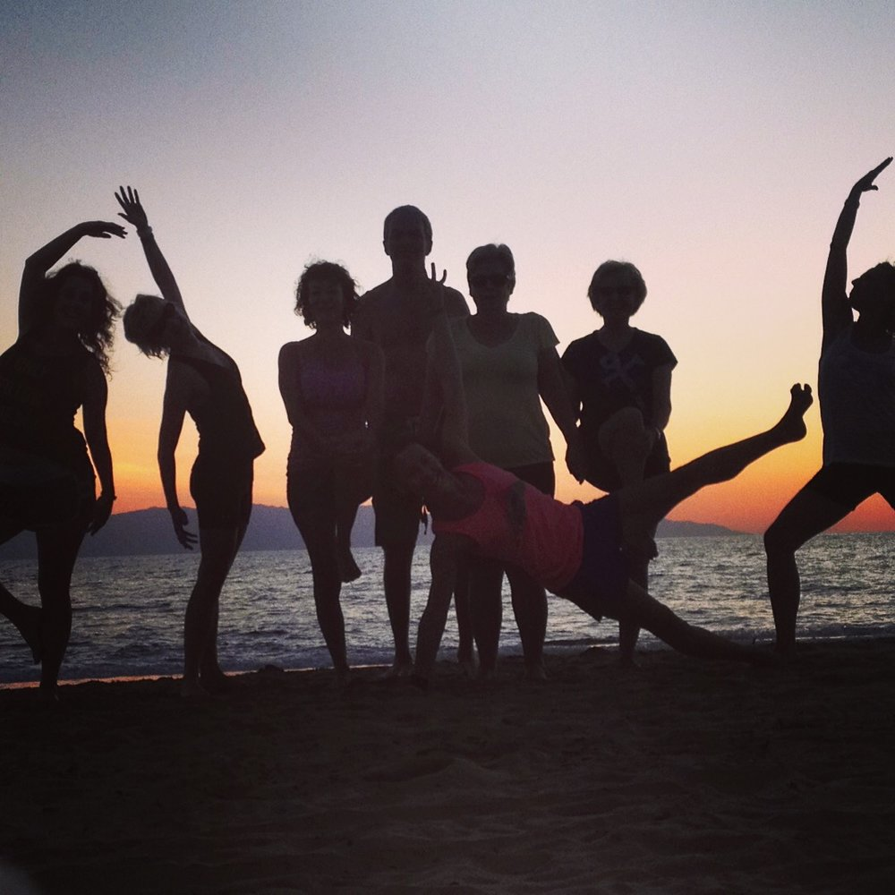 Sunset Yoga 2014 in Puerto Vallarta, Mexico