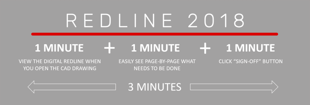 RedLine 2018 is 90% quicker than paper... - RedLine 2018 offers one thing above all else: more time in your team's workday.With time savings of up to 90% versus printed SOLIDWORKS and AutoCAD drawing markups, you'll literally be putting more time back into your workday.