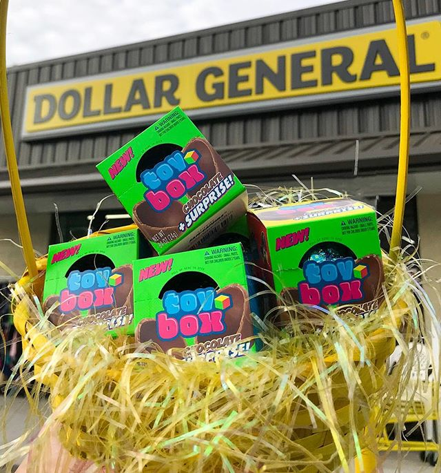 Forget the Easter eggs this season, fill your Easter baskets with ToyBox! Find us at your local Dollar General 👀🐣 #whatsinyourtb