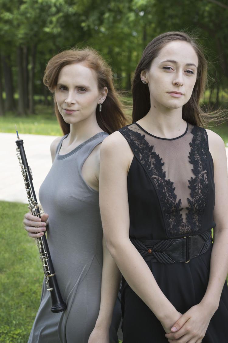 Dannielle McBryan: composer, oboist   Anneke Belman: choreographer, dancer
