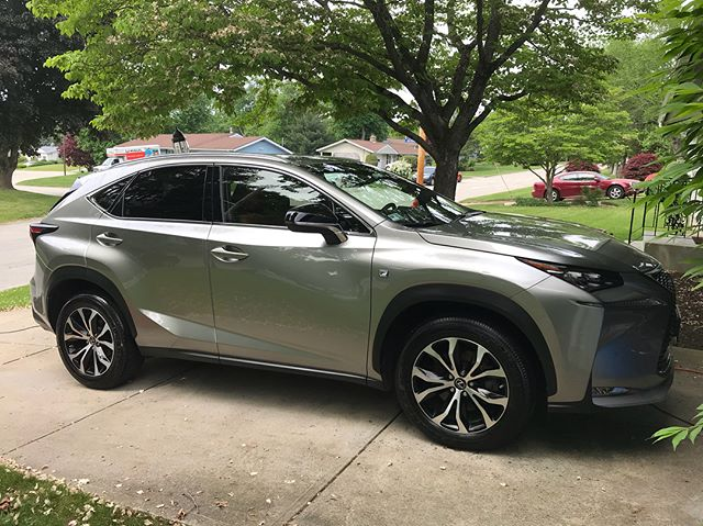 Today's patient: 2015 Lexus NX200t F Sport. This vehicle like many had fallen victim to this past nasty winter. With a full In&out plus engine it's back to better than the day it left the showroom floor! #jcdetails #meguiars #griotsgarage #gyeon #detailing #3ddetailingproducts