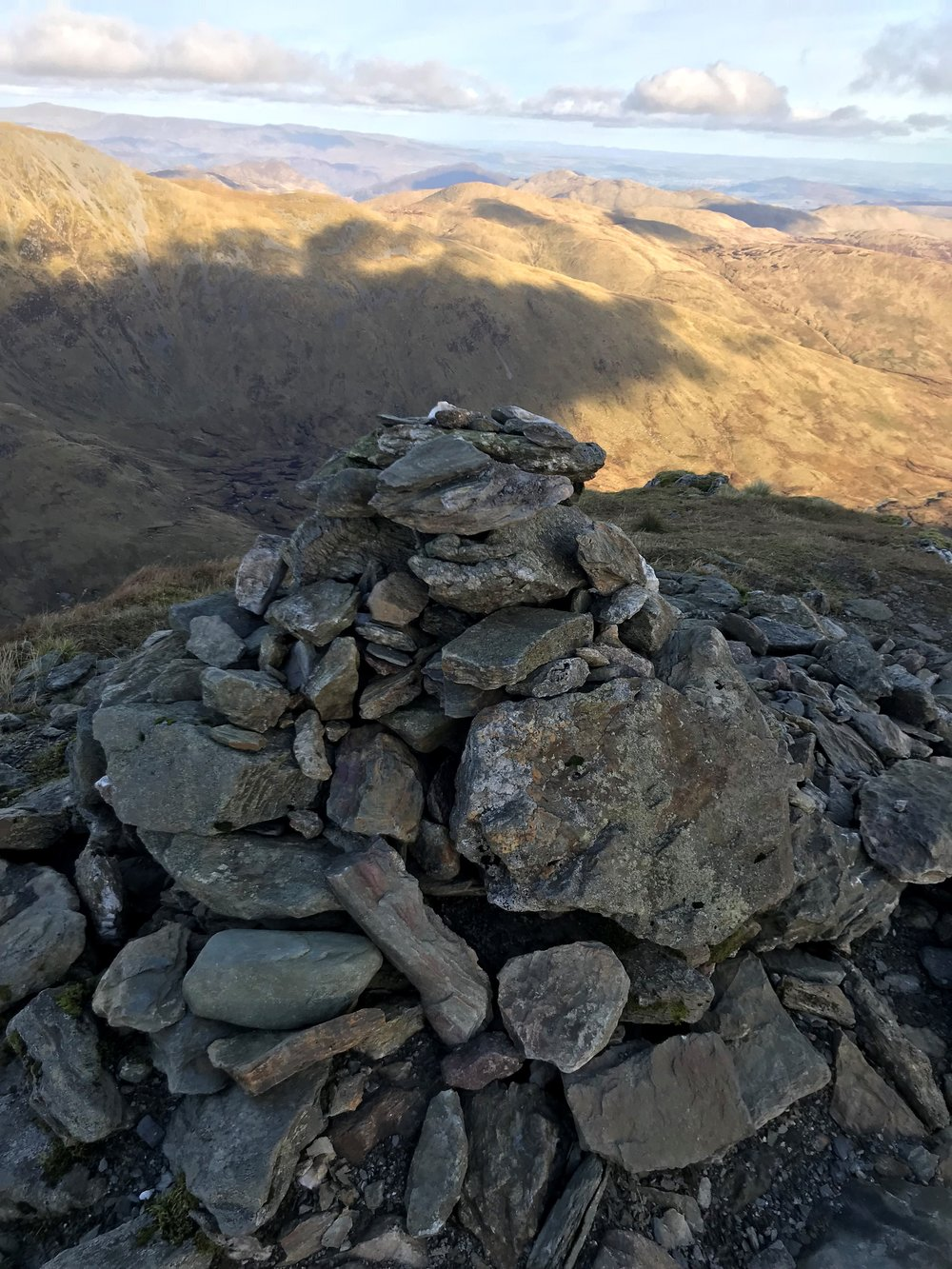 Summit of Stuc a Chroin