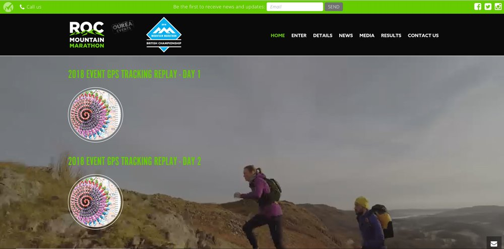 ROC Mountain Marathon home page