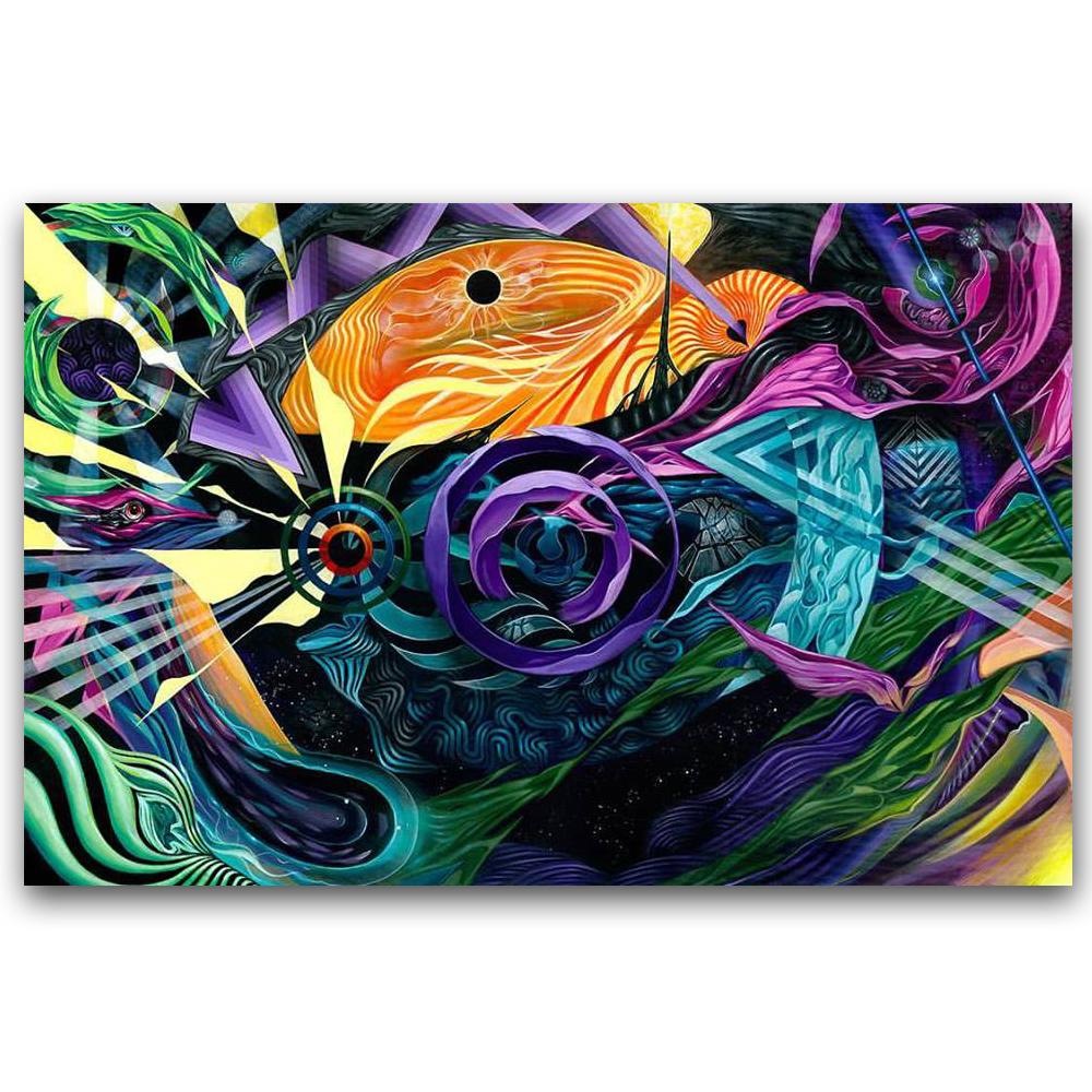 Flowecho - 4 ft. x 6 ft.Acrylic on Canvas