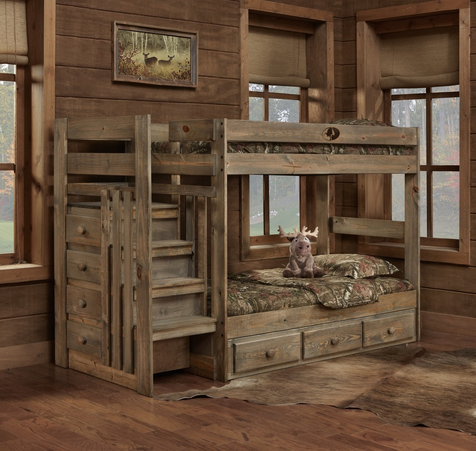 Mossy Oak Bunk Bed