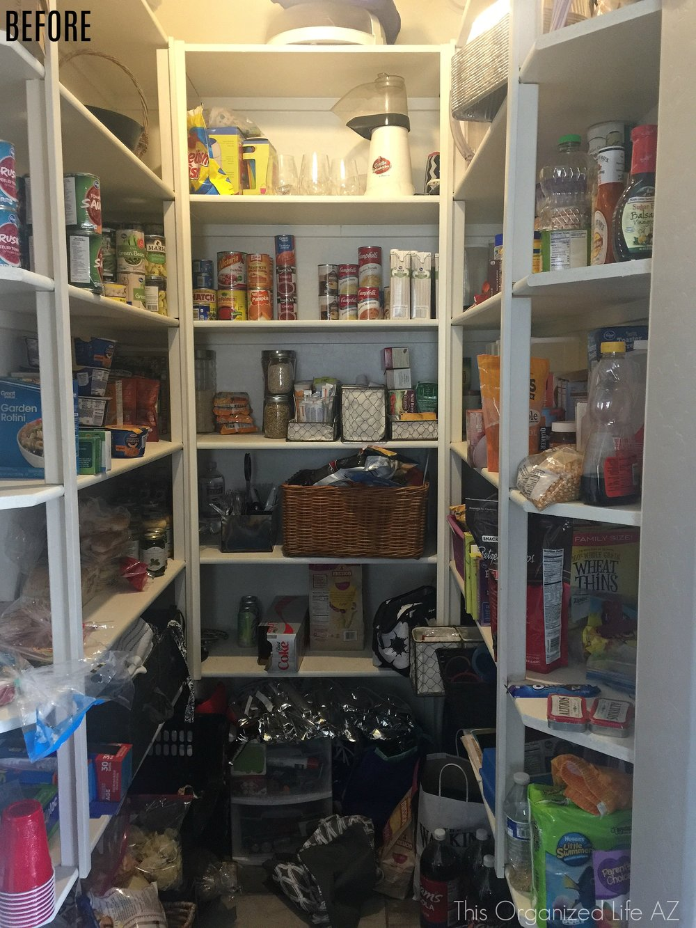 Tips for creating a Pinterest worthy pantry from This Organized Life AZ