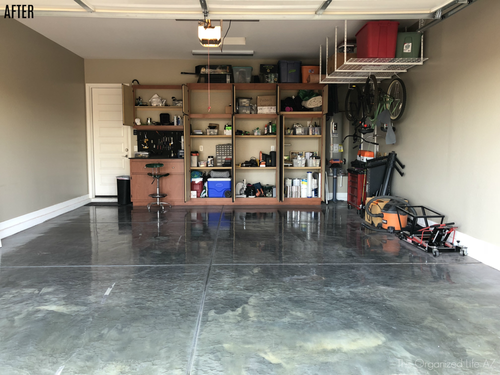 Arizona garage organization