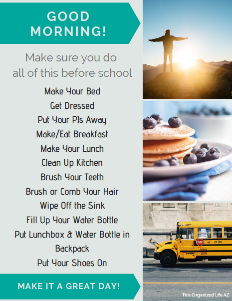 This Organized LIfe AZ-Before School Checklist-Completed.png