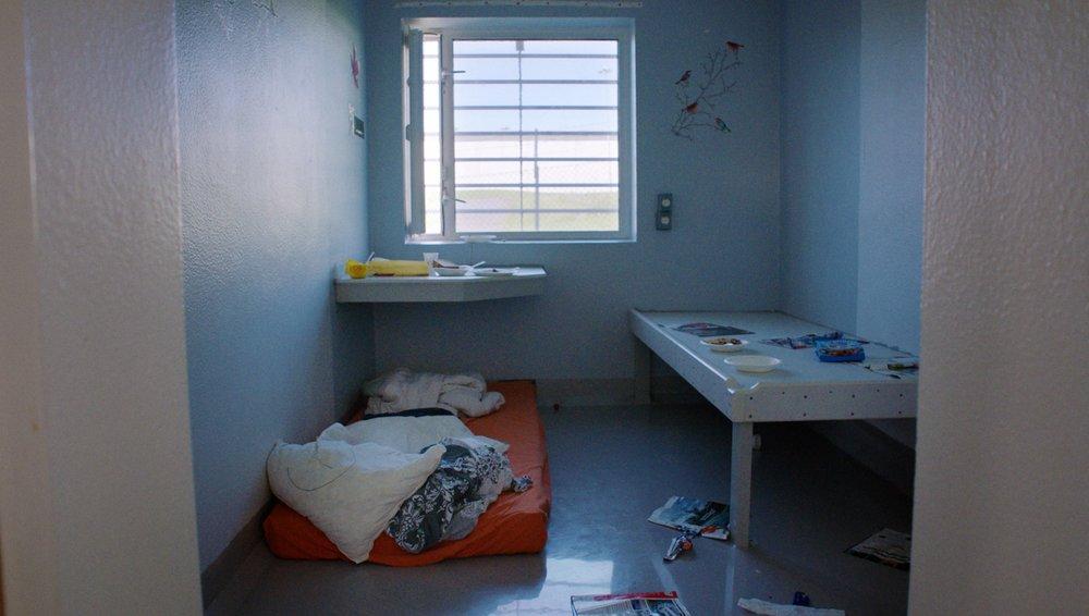 Insatte på avdeling G tilbringer 23 timer i døgnet på cella. FOTO: LARS ERLEND TUBAAS ØYMO / SPERANZA FILM