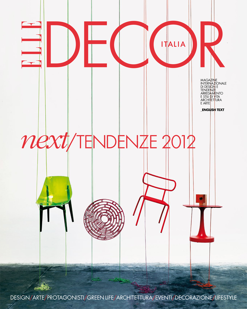Elisa Ossino Studio — Elle Decor — Next 2012