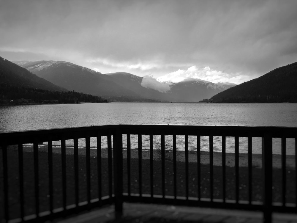Cabin life on Kootenay Lake, with my iPhone XS