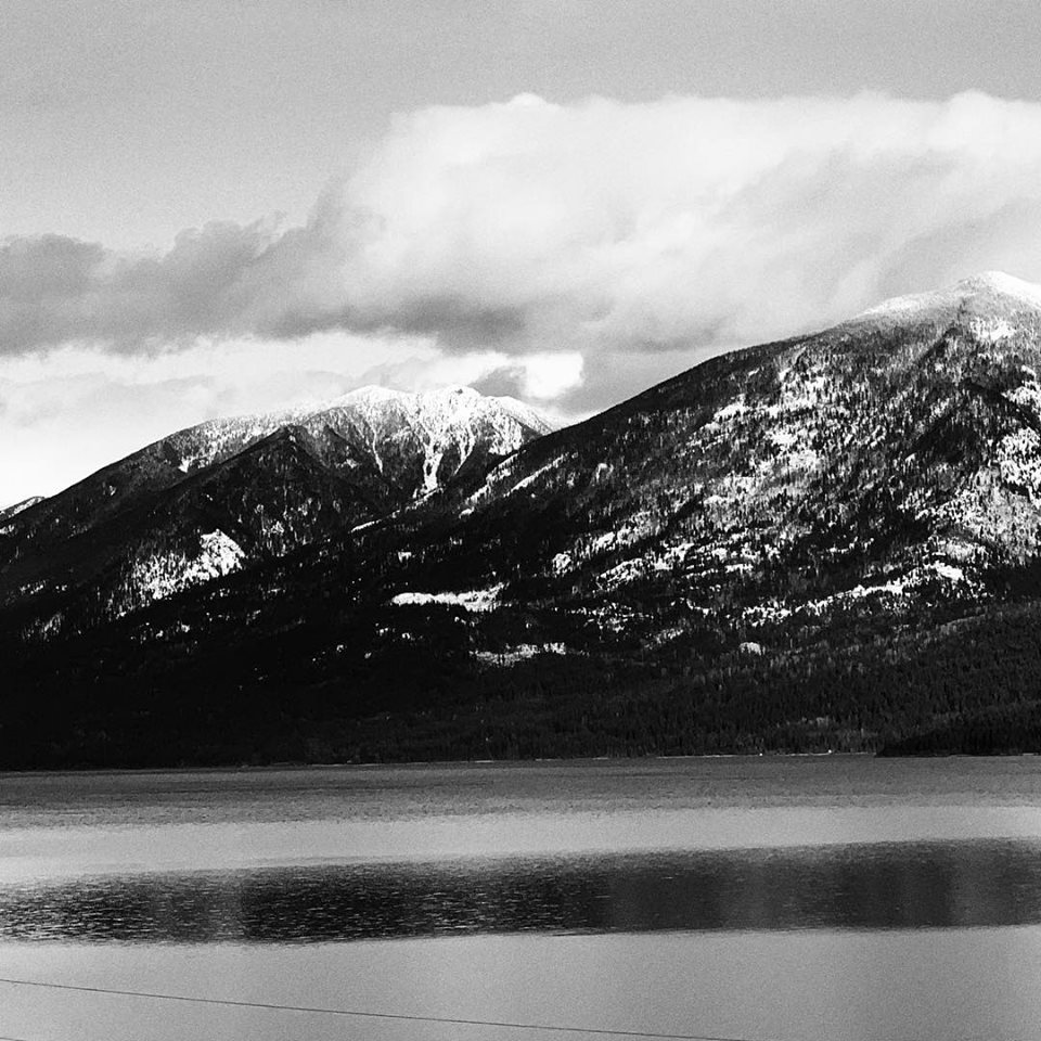 Kootenay Lake, British Columbia, with my iPhone