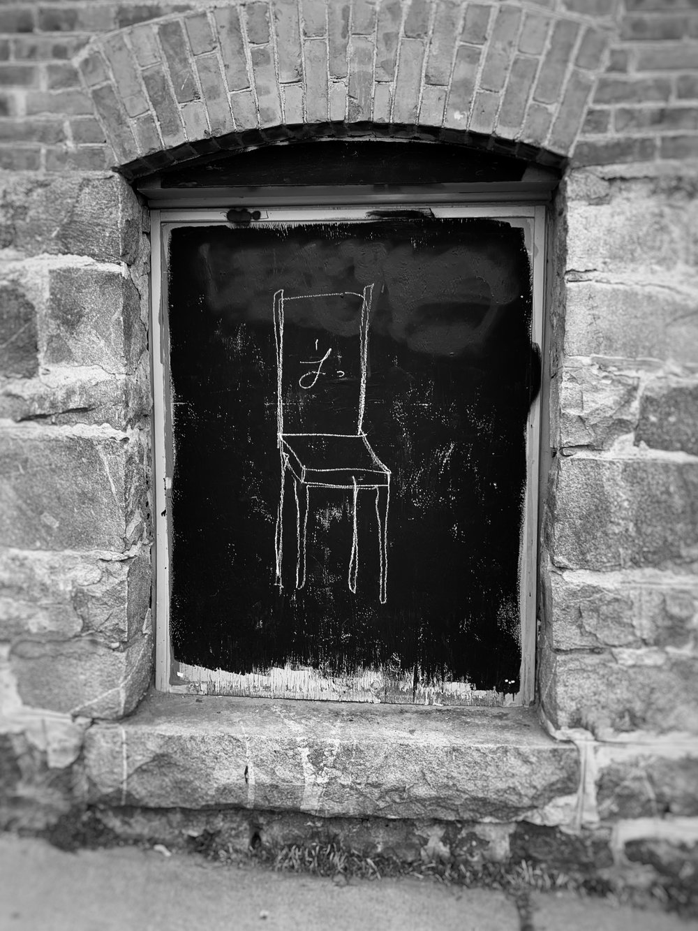Window and chair, Nelson, BC