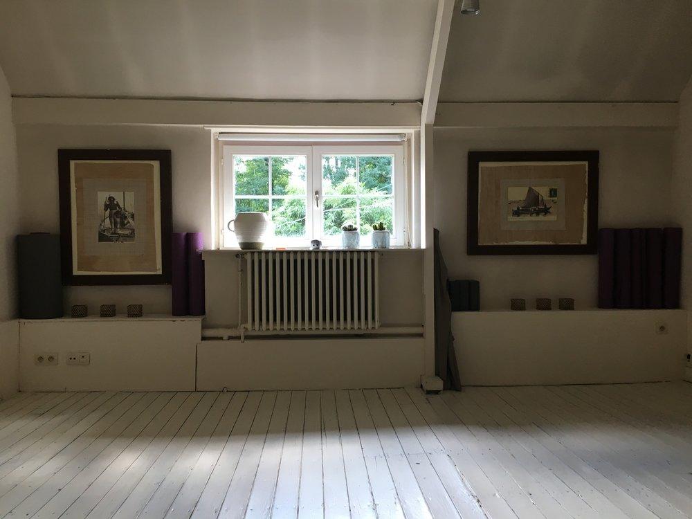 Yoga Studio Sint Denijs max 6-7 pers.