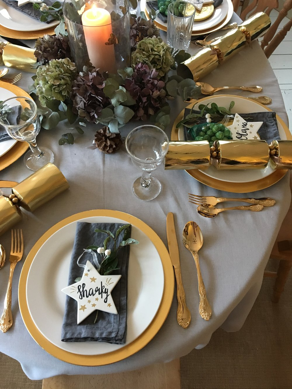 Place Setting Ideas at Christmas