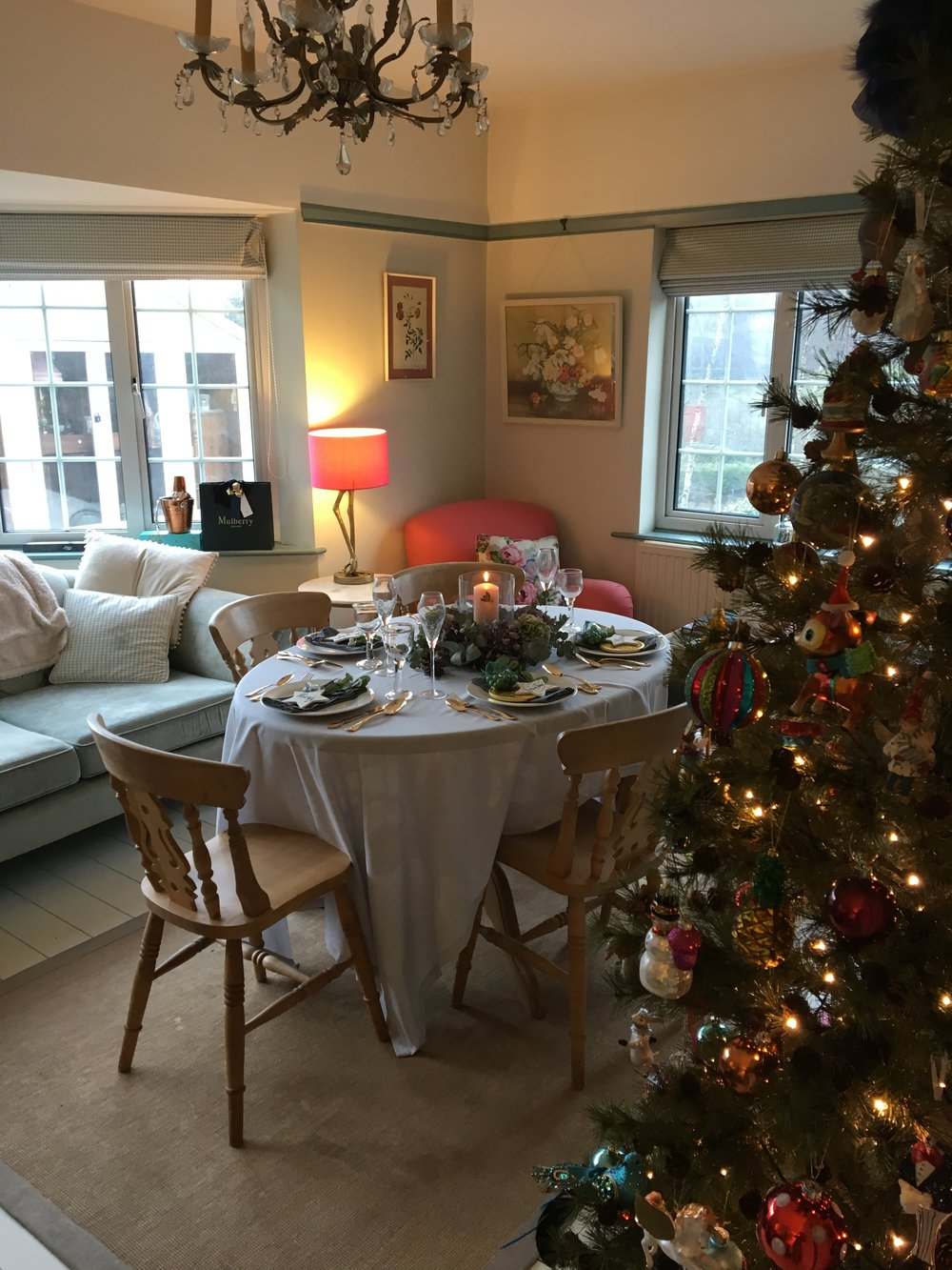 home styling for christmas
