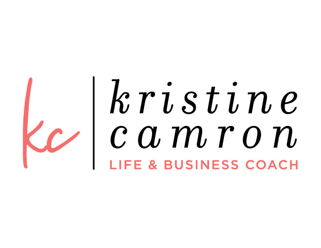 Vale Design - Kristine Camron website & branding wordmark