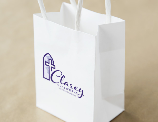 Vale Design - Clarey Clayworks gift bag