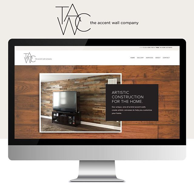 ⚡️ LAUNCHED: The Accent Wall Co @squarespace website! Style. Rustic. Elegant. Warm. Creative. Joy-sparked. This website translated so well from our original moodboard and captures all the style of Artist / Contractor @reneemcgowan • Indy residents - check out the new website to add some custom features to those boring, dead walls in your home! • Vale Design • • #squarespace #squarespacetemplate #squarespacedesigner #webtips #websiteinfo #designerlife #brand #brandidentity  #web #webdesign #creativeminds #goalgetter #dowhatyoulove #creativeatheart #savvybusinesswomen #womeninbusiness #smallbusiness #beingbosspodcast #therisingtidesociety #dailyhustle #imperfectboss #womenwhowork #websiteinfo #designerlife #goaldigger #femaleentreprenuer #valedesignportfolio #copywriting #copywritingforcreatives