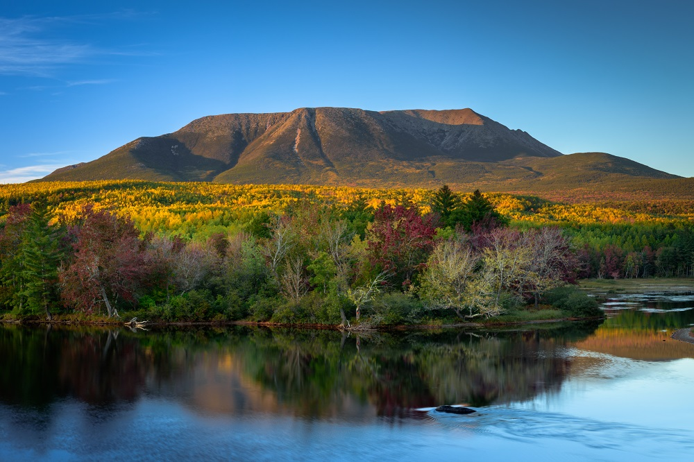 Mount Katahdin in Baxter State Park