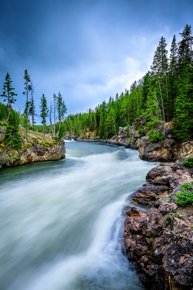 """The Yellowstone River"" - Yellowstone National Park"