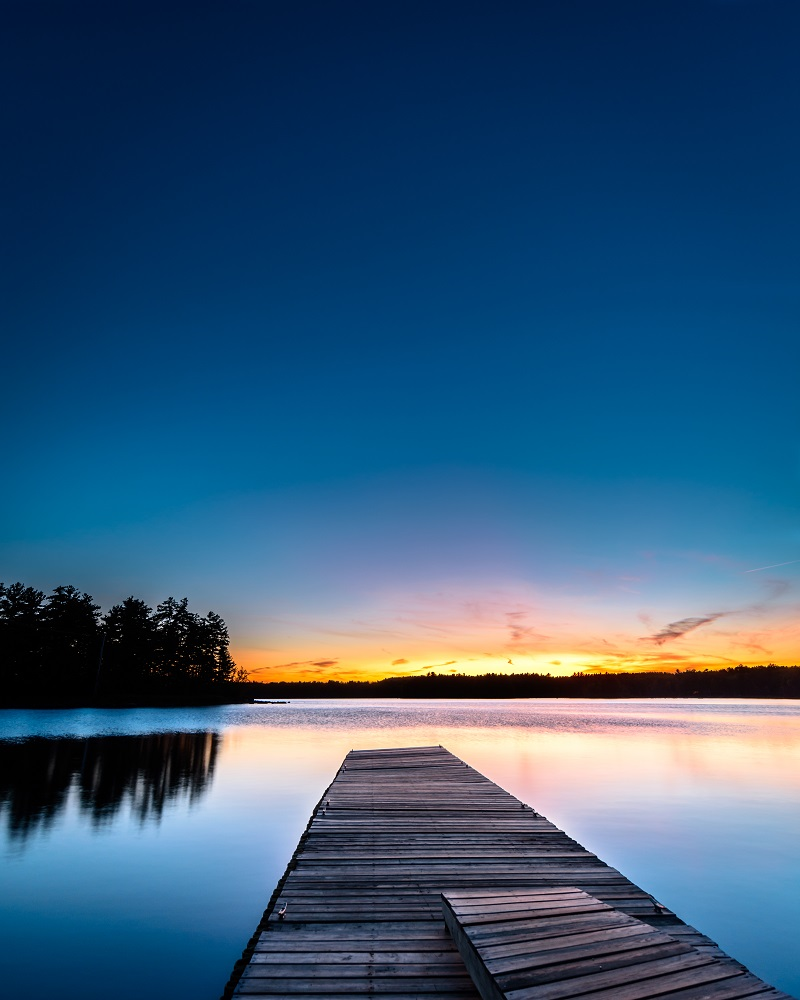 """The Blue Hour"" - Maine"