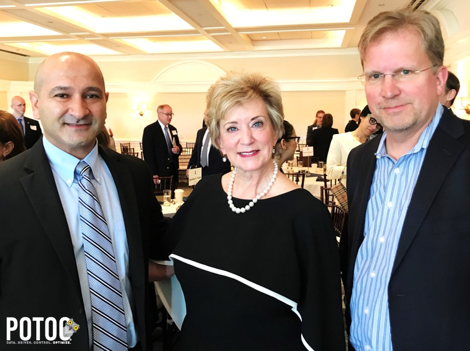 Potoo's Founders with the 25th Administrator of the Small Business Administration Linda McMahon - Entrepreneur; co-founder and former CEO of WWE, she knows what it takes to grow a business.