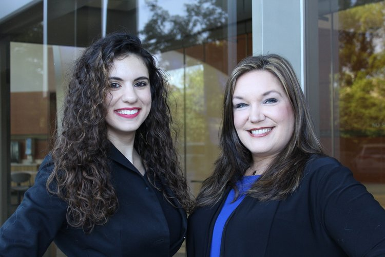 Human Resources Manager, Evelyna Avanesian (Left) and Human Resources Recruiter, Krystyna Romano (Right).