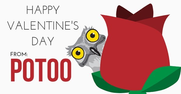 Great work is to love what you do. Happy Valentine's Day from Potoo! 🌹 #PotooSolutions #Potoo #ValentinesDay