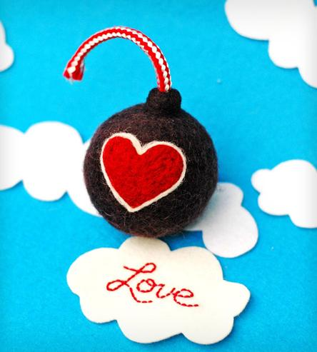Love Bomb by FeltBomb at ScoutMob