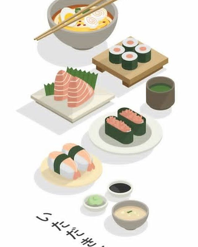 Some #sushiart cause #Sundays are reserved for feeling #inspired